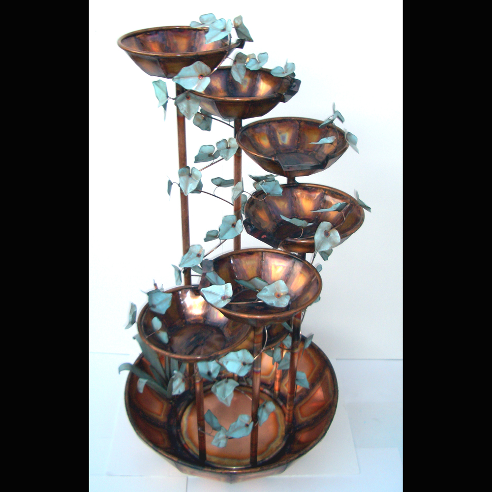 Beau 7Bowl WaterFall Fountain 7 Feet Tall