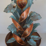 Copper Water Fountains Medium Designs