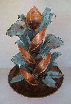 Copper Water Fountains Medium Designs