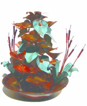 copper fountain raintree