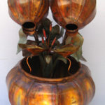 Copper Water Fountain Medium Fern Bowl
