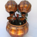 Copper Water Fountain Small Fern Bowl