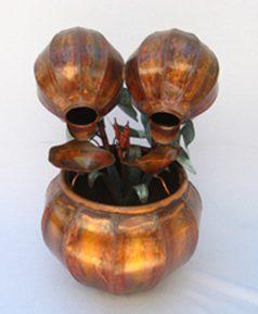 Copper Water Fountain Small Fern Bowl