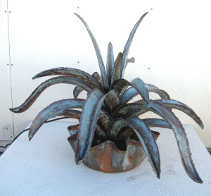 Aloe Vera Copper Water Fountain