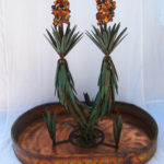 yucca cactus with flower double