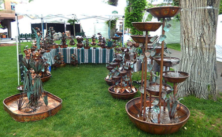 booth at Santa Fe June 13 and 14
