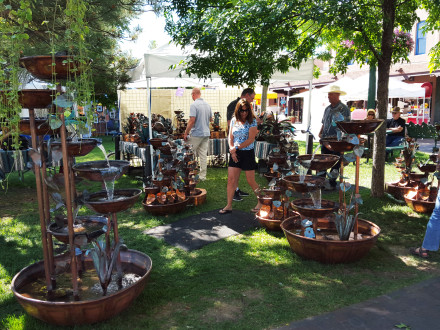 Hand Made Copper Fountains Santa Fe NM